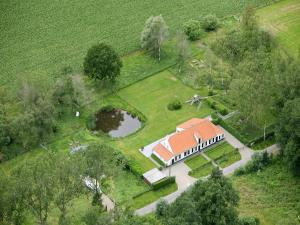 A bird's-eye view of Cottage de Vinck
