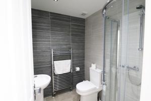 A bathroom at Breck Blackpool