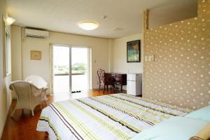Kunigami-gun - House / Vacation STAY 4861 객실 침대