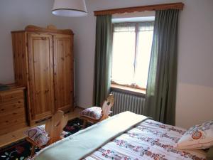 Un ou plusieurs lits dans un hébergement de l'établissement Tornede Mountain Cottage