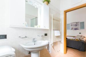 A bathroom at Casa Temporanea
