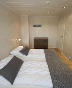 A bed or beds in a room at Havsdalsgrenda Geilo
