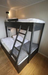 A bunk bed or bunk beds in a room at Havsdalsgrenda Geilo