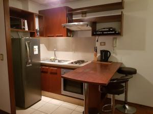 Una cocina o zona de cocina en Carmen con Argomedo CON ESTACIONAMIENTO