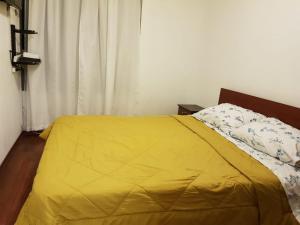 Cama o camas de una habitación en Carmen con Argomedo CON ESTACIONAMIENTO