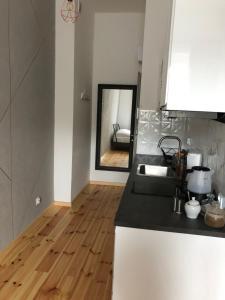 A bathroom at Apartamenty Mikubo Wrocław