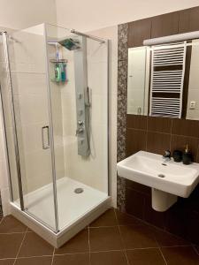 Kúpeľňa v ubytovaní City View Luxury Apartment