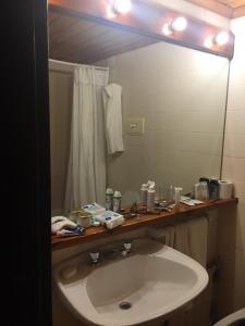 Un baño de Apartamento en Hosteria del Cerro