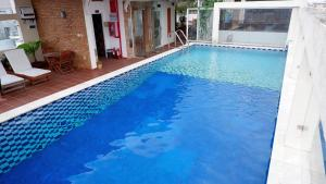 The swimming pool at or near Ananas Family Hotel