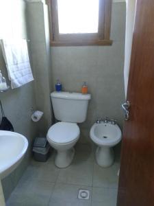 Un baño de Departamento Céntrico en San Carlos de Bariloche