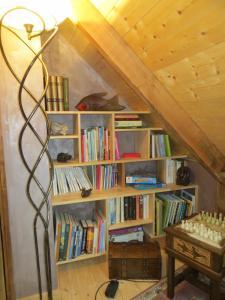 Loma-asunnon kirjasto