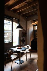 Een zitgedeelte bij Studio 17