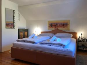 Ein Bett oder Betten in einem Zimmer der Unterkunft Bachhäusl