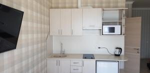 Een keuken of kitchenette bij МОРЕ