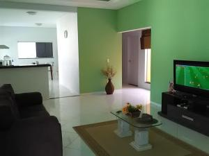 A television and/or entertainment center at Flamboyant