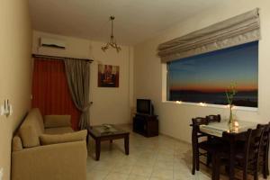 Χώρος καθιστικού στο Pantheon Hotel & Suites
