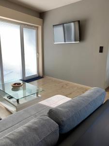 מיטה או מיטות בחדר ב-Grand Spa Holiday Home II