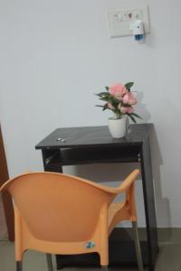 A seating area at AnuBNK whitefield