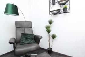A seating area at Prime Apartments 44