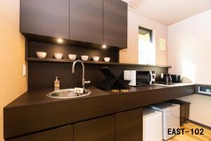 Stagione箱根湯本にあるキッチンまたは簡易キッチン