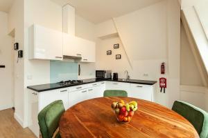 Küche/Küchenzeile in der Unterkunft Stayci Serviced Apartments Central Station