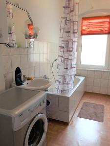 Ein Badezimmer in der Unterkunft Diana Appartement