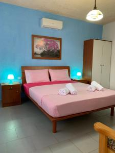 A bed or beds in a room at B&D 1