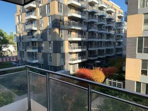 A balcony or terrace at *** Lovely apartment downtown ***