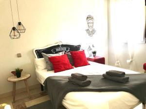 Katil atau katil-katil dalam bilik di Piso nuevo zona sol