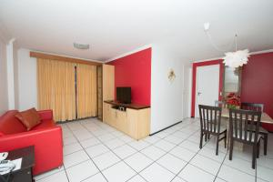 A seating area at Porto de Iracema 630