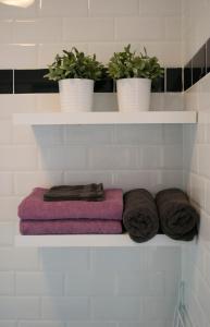 Ein Badezimmer in der Unterkunft Appartement Jolie Noordwijk