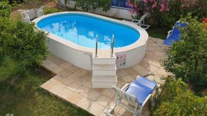 The swimming pool at or near Casa Algarvia