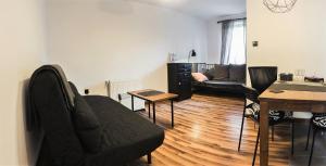 A seating area at Apartamenty Tabula