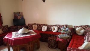 Area soggiorno di Marrakech
