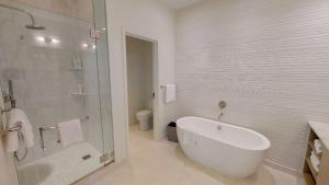 A bathroom at The Residences at Seafire