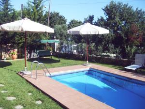 The swimming pool at or near Villa Phaedra