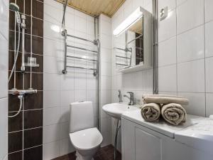 A bathroom at Citykoti Downtown Apartments