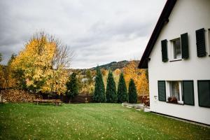 Ogród w obiekcie Dom Panorama