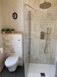 A bathroom at Luxury Chateau France - Pool