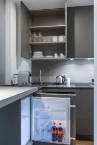 Cucina o angolo cottura di 30Cavour luxury suites
