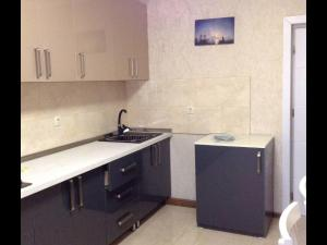 A kitchen or kitchenette at Apartment Gallery