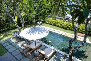 A garden outside Desa Pramana Swan