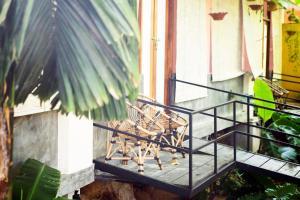 A balcony or terrace at BoHo Hiriketiya
