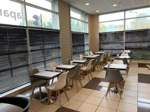 A restaurant or other place to eat at Appartéa Grenoble Alpexpo