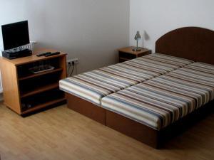 Posteľ alebo postele v izbe v ubytovaní HAČAVA-PRIVÁT