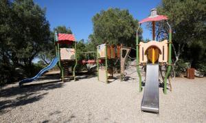 Children's play area at Résidence Salina Bay