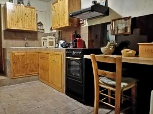 A kitchen or kitchenette at Dimitra's Vacation Home