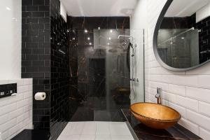 Vonios kambarys apgyvendinimo įstaigoje Bed&Bath Novum Apartments