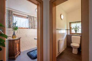 Ein Badezimmer in der Unterkunft Ferienwohnungen Stefan Kröll