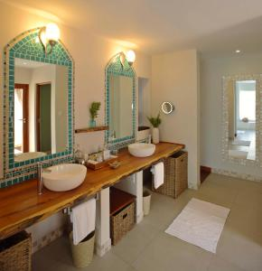 A bathroom at Azura Benguerra Island, Mozambique